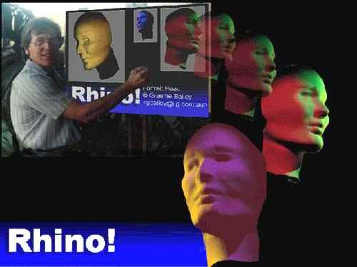 Example of 3D Imaging with Rhino Program